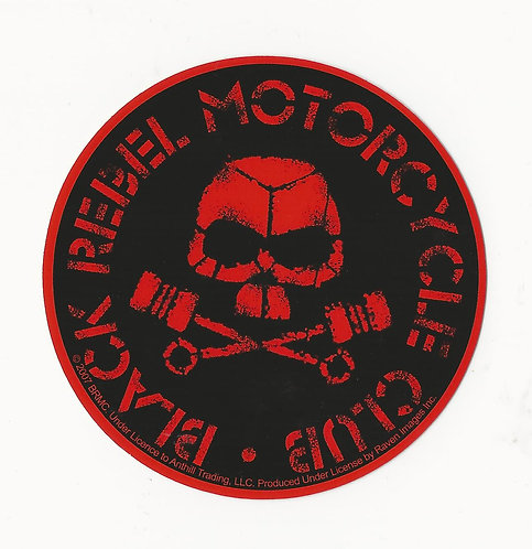 Black Rebel Motorcycle Club - Skull Sticker