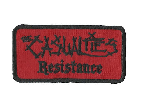 The Casualties - Resistance Namebar Embroidered Patch