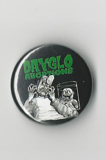 Dayglo Abortions - Baby Doc Pin