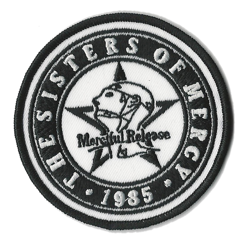 The Sisters of Mercy - Merciful Release Embroidered Patch