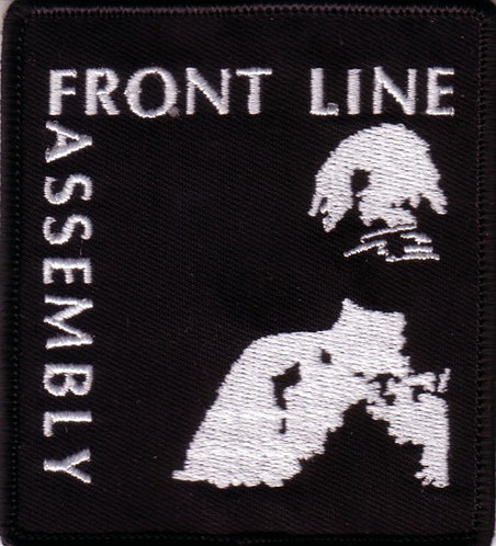 Front Line Assembly - Lady Embroidered Patch