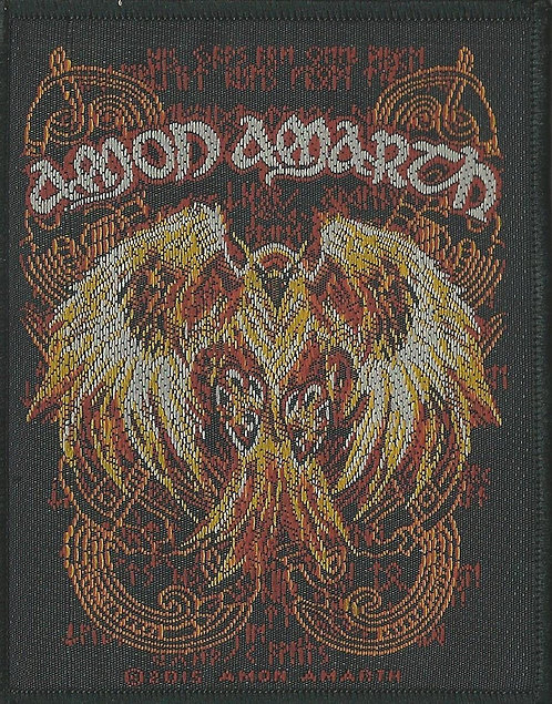 Amon Amarth - Phoenix Woven Patch