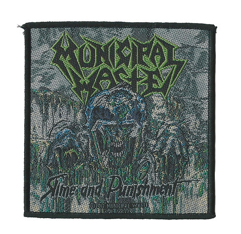 Municipal Waste - Slime and Punishment Woven Patch