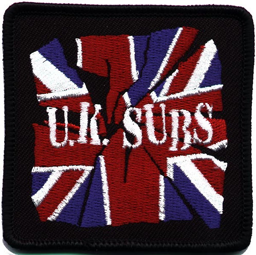 U.K. Subs - Party in Paris Embroidered Patch
