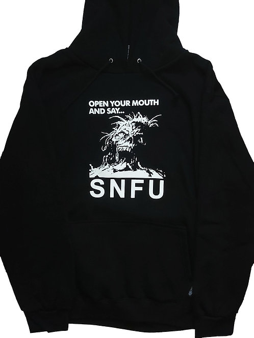 S.N.F.U - Open Your Mouth Pullover Hoodey