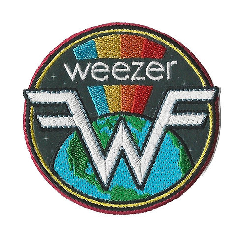 Weezer - Earth Embroidered Patch