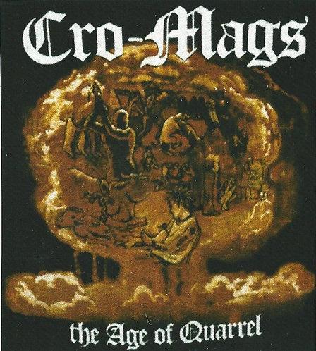 Cro-Mags - The Age of Quarrel Sticker
