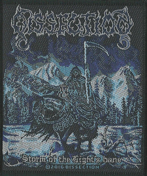 Dissection - Storm of the Night's Bane Woven Patch