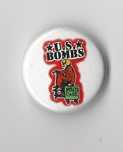 U.S. Bombs - Road Case Pin
