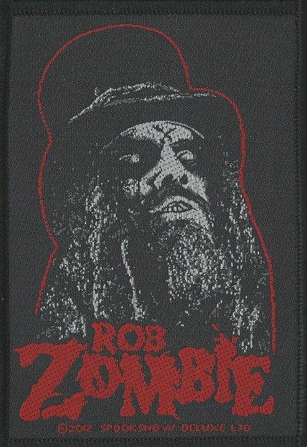 Rob Zombie - Portrait Woven Patch