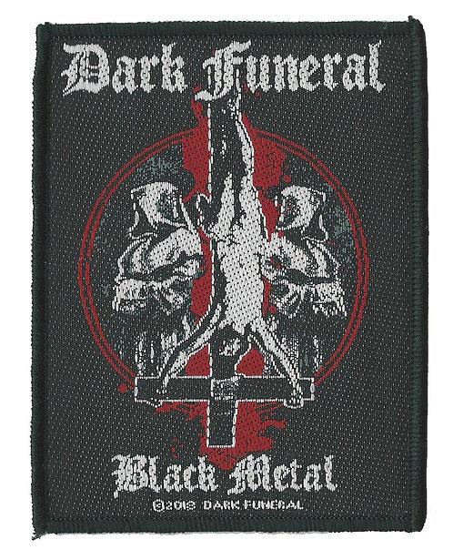 Dark Funeral - Black Metal Woven Patch