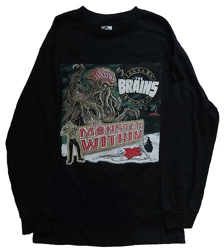 The Brains - The Monster Within Longsleeve
