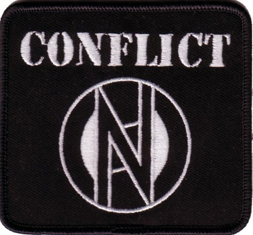 Conflict - Logo Embroidered Patch