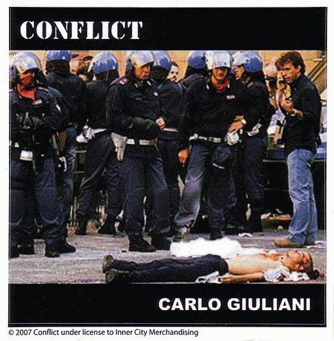 Conflict - Carlo Giuliani Sticker