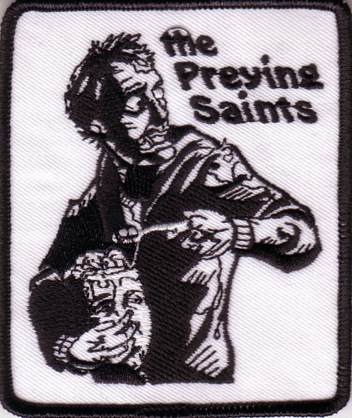 The Praying Saints - Zombie Embroidered Patch