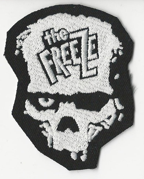 The Freeze - Skull Logo Die Cut Embroidered Patch