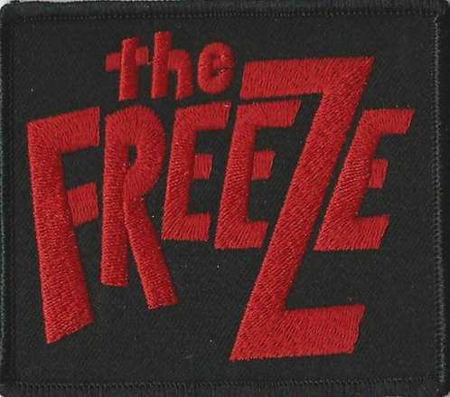 The Freeze - Red Logo Embroidered Patch