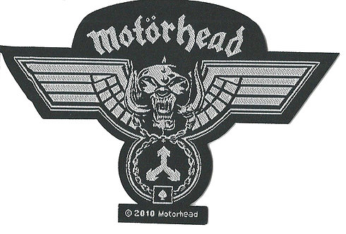 Motorhead - Hammered Woven Patch