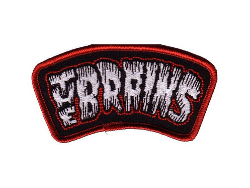 The Brains - Logo Embroidered Patch