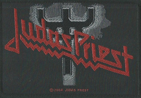 Judas Priest - Fork Logo Woven Patch