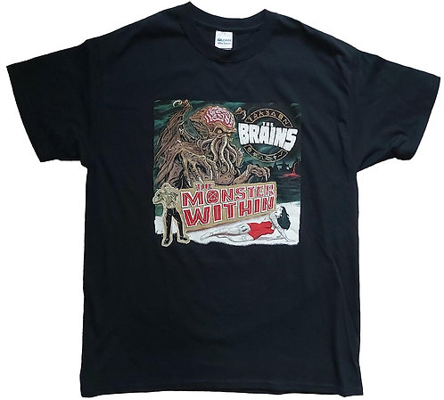 The Brains - The Monster Within T-Shirt