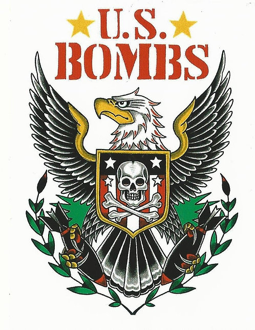 U.S. Bombs - Eagle Sticker