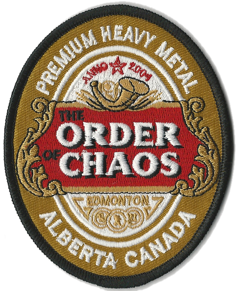 The Order of Chaos - Stella Embroidered Patch