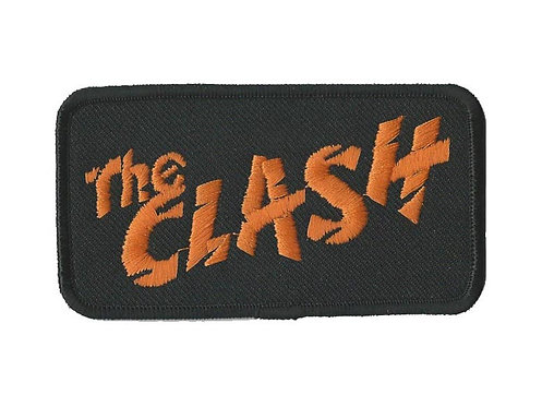 The Clash - Orange Logo Embroidered Patch