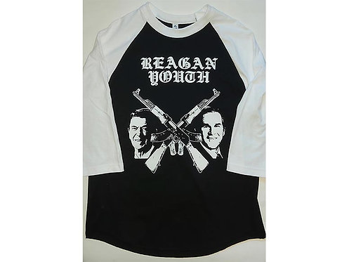 Reagan Youth - Presidents Baseball Tee