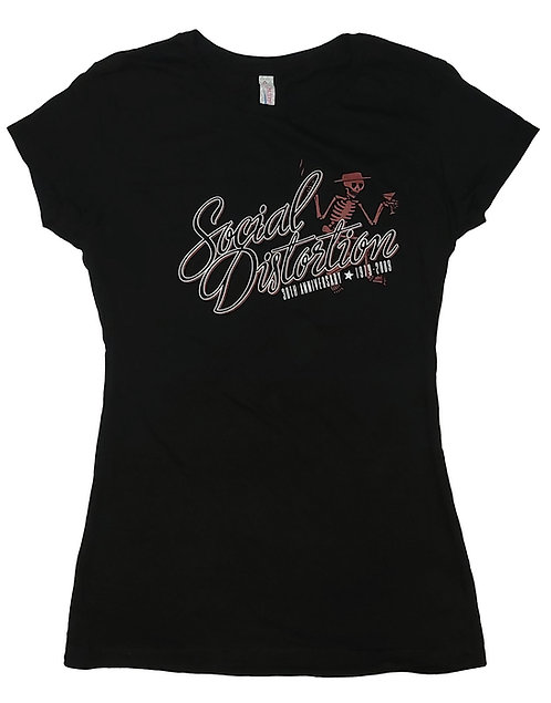 Social Distortion - 30th Anniversary Ladies Tee