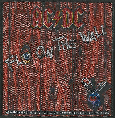 AC/DC - Fly On The Wall Woven Patch