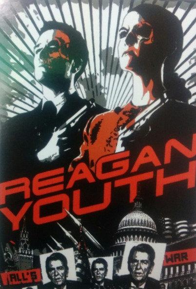 Reagan Youth - All's War Sticker