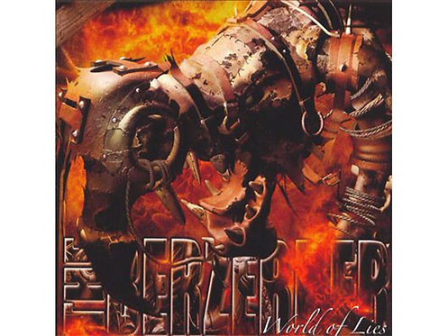Berzerker - World of Lies CD