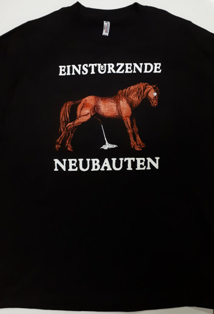 Einsteurzende Neubauten - Pissing Horse T-Shirt