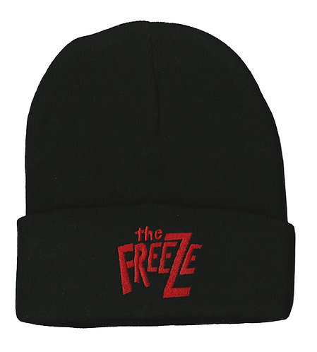 The Freeze - Red Logo Beanie