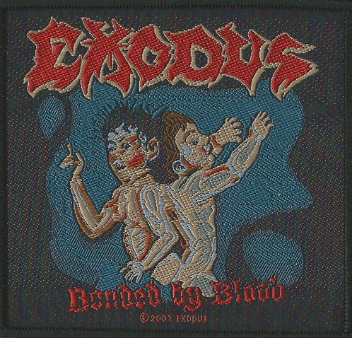 Exodus - Bound by Blood Woven Patch