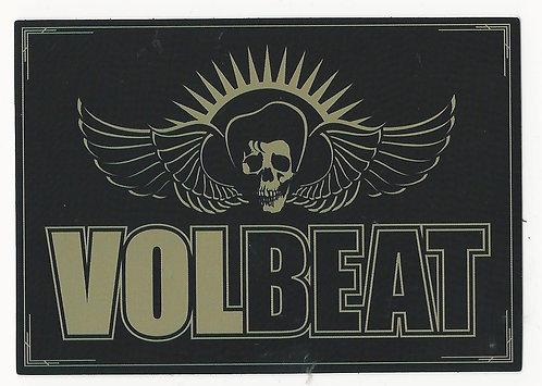 Volbeat - Skull Wings Sticker