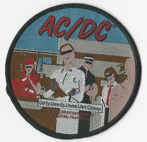 AC/DC - Dirty Deeds Woven Patch