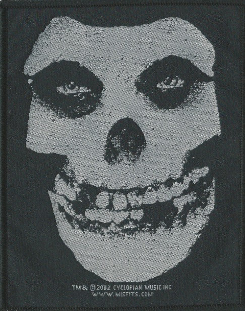 Misfits - Crimson Ghost Woven Patch