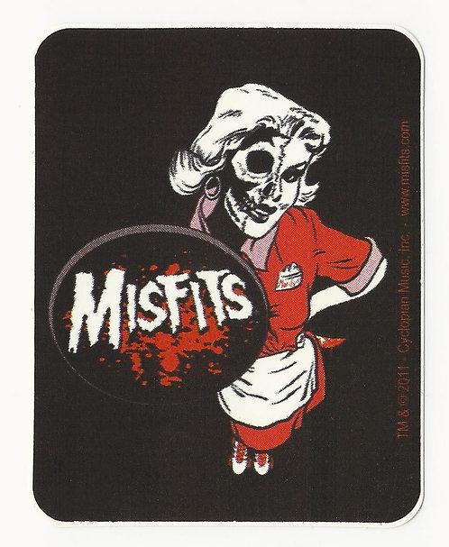 Misfits - Marilyn Skull Sticker