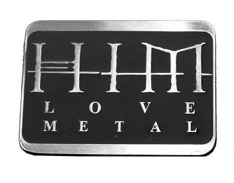 HIM - Love Metal Belt Buckle