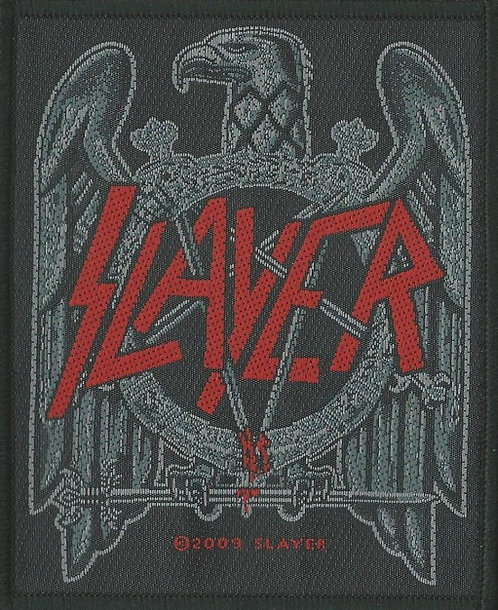 Slayer - Black Eagle Woven Patch