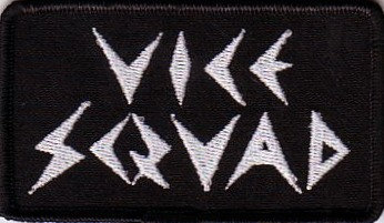 Vice Squad - Logo Embroidered Patch