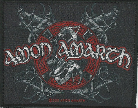 Amon Amarth - Viking Dog Woven Patch