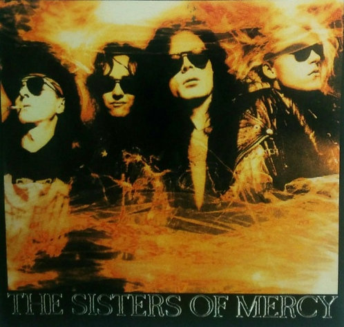 The Sisters of Mercy - Temple of Love Sticker