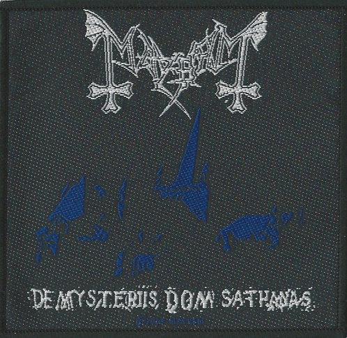 Mayhem - De Mysteriis Dom Sathanas Woven Patch