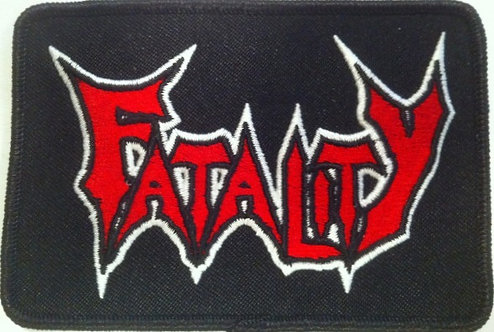 Fatality - Logo Embroidered Patch