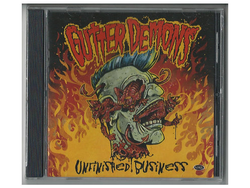 Gutter Demons - Unfinished Business CD