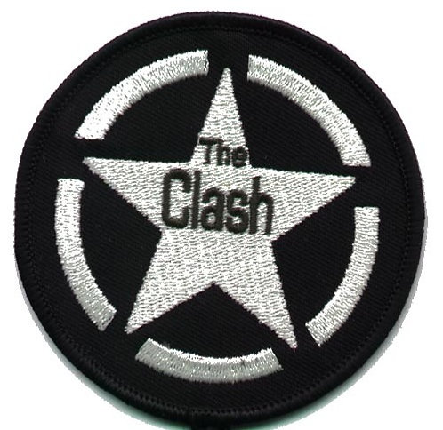The Clash - Allied Star Embroidered Patch