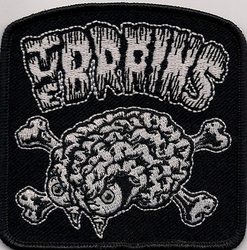 The Brains - Brain Embroidered Patch